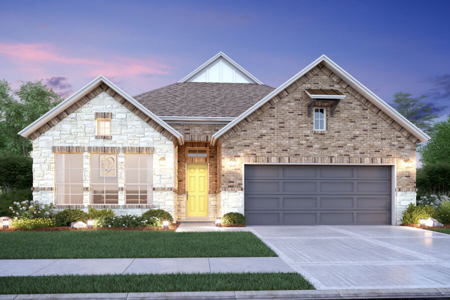 Brentwood Elevation A
