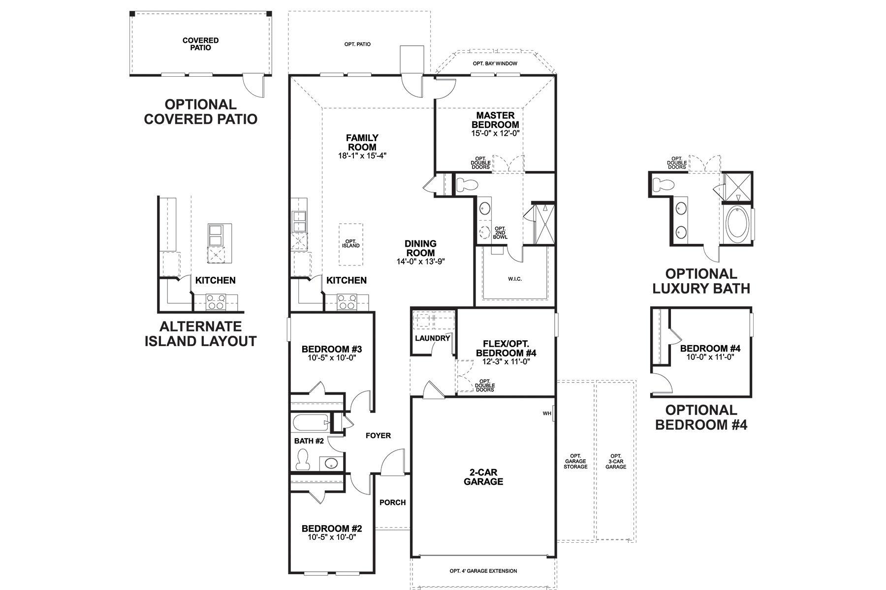 Freestone Floorplan