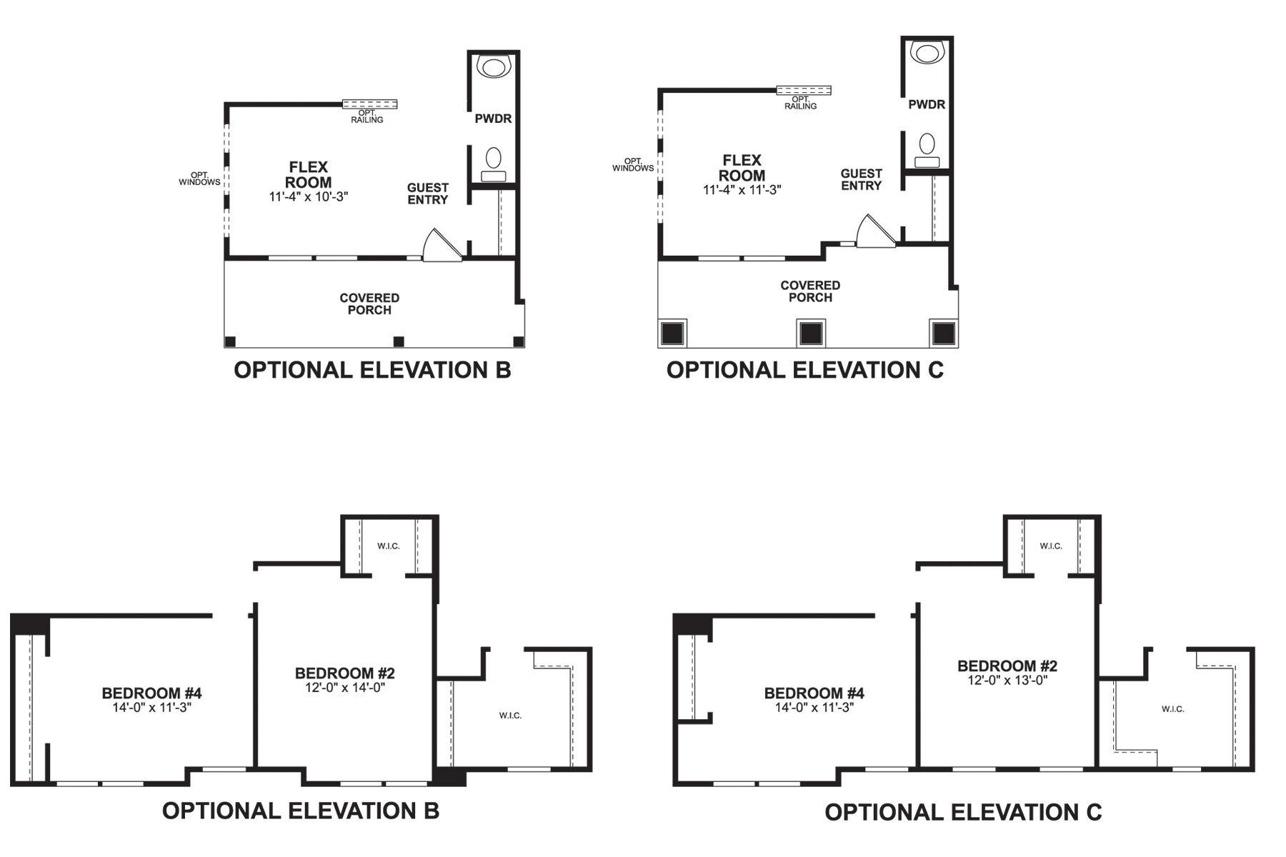 Findlay First Floor Options