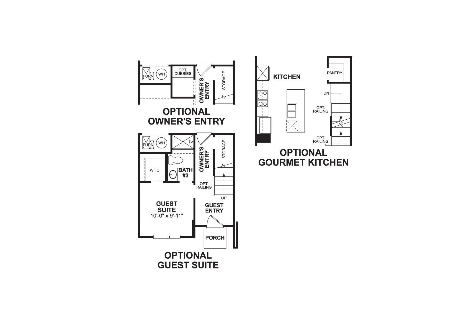 t1600 Floorplan Options