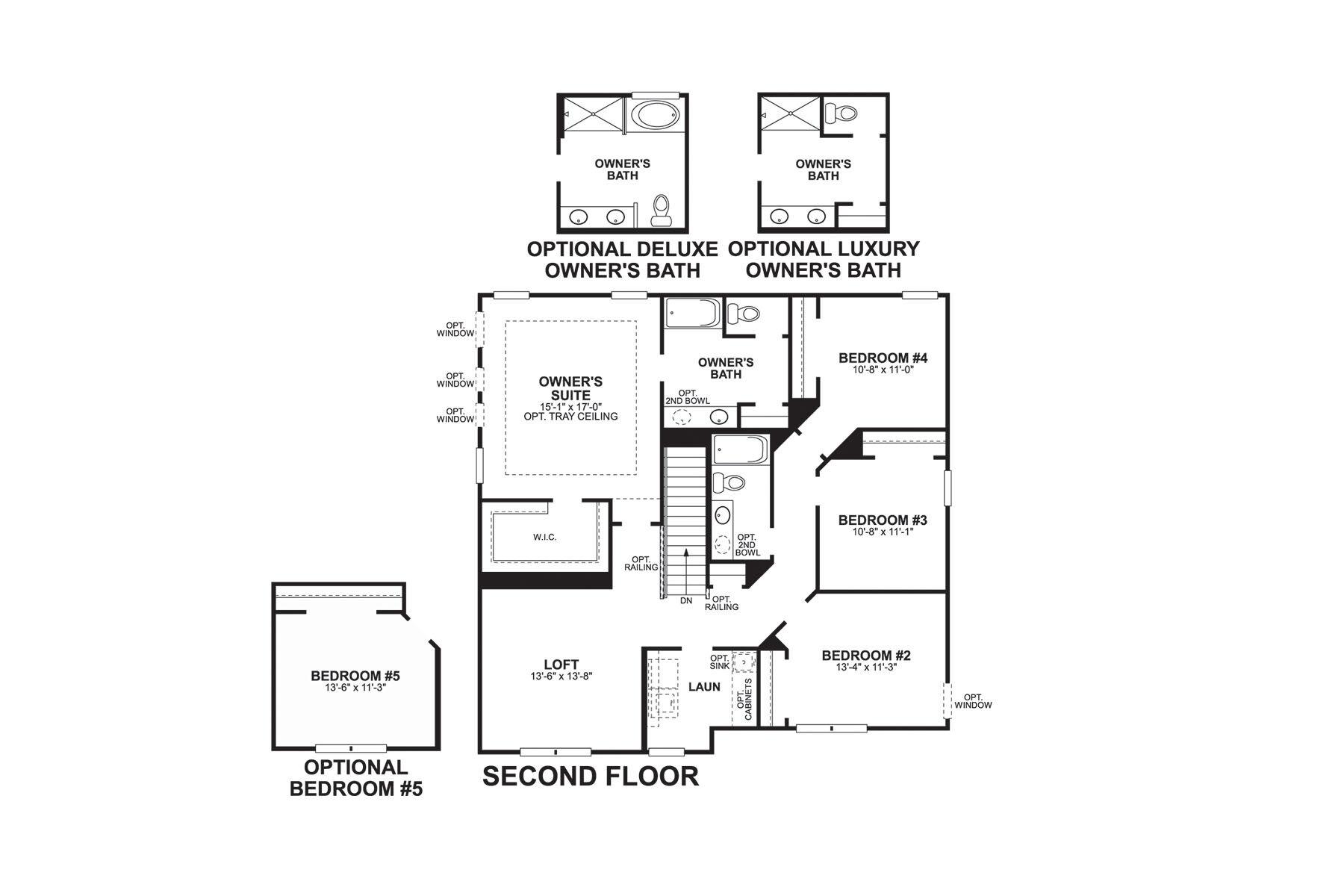 Holcomb Second Floor
