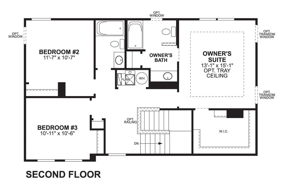 Tarkington Second Floor