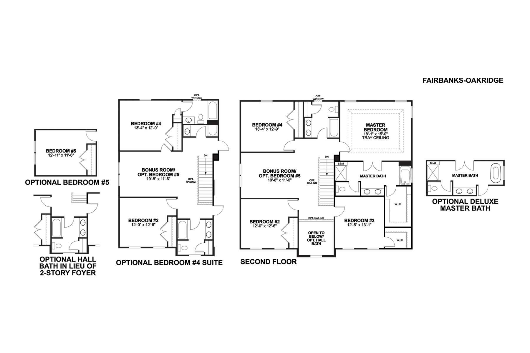 Fairbanks Second Floor
