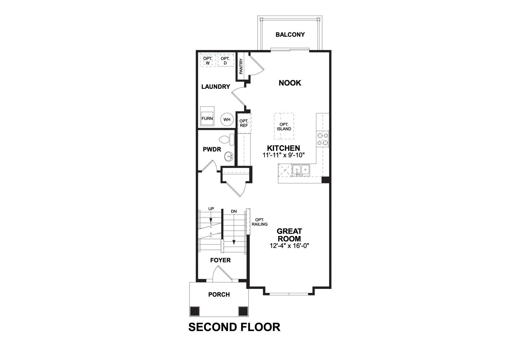 Avery Second Floor