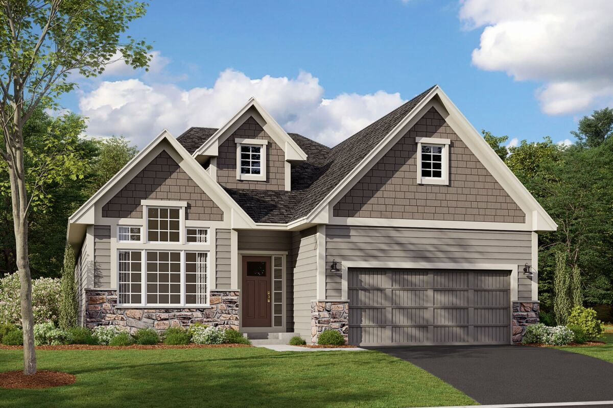 Sycamore Elevation C - Stone