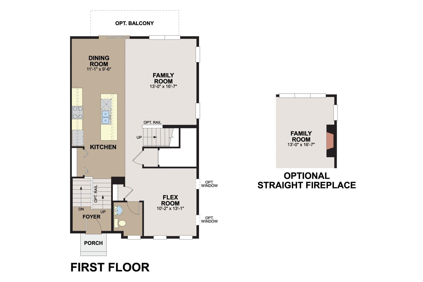Prescott First Floor
