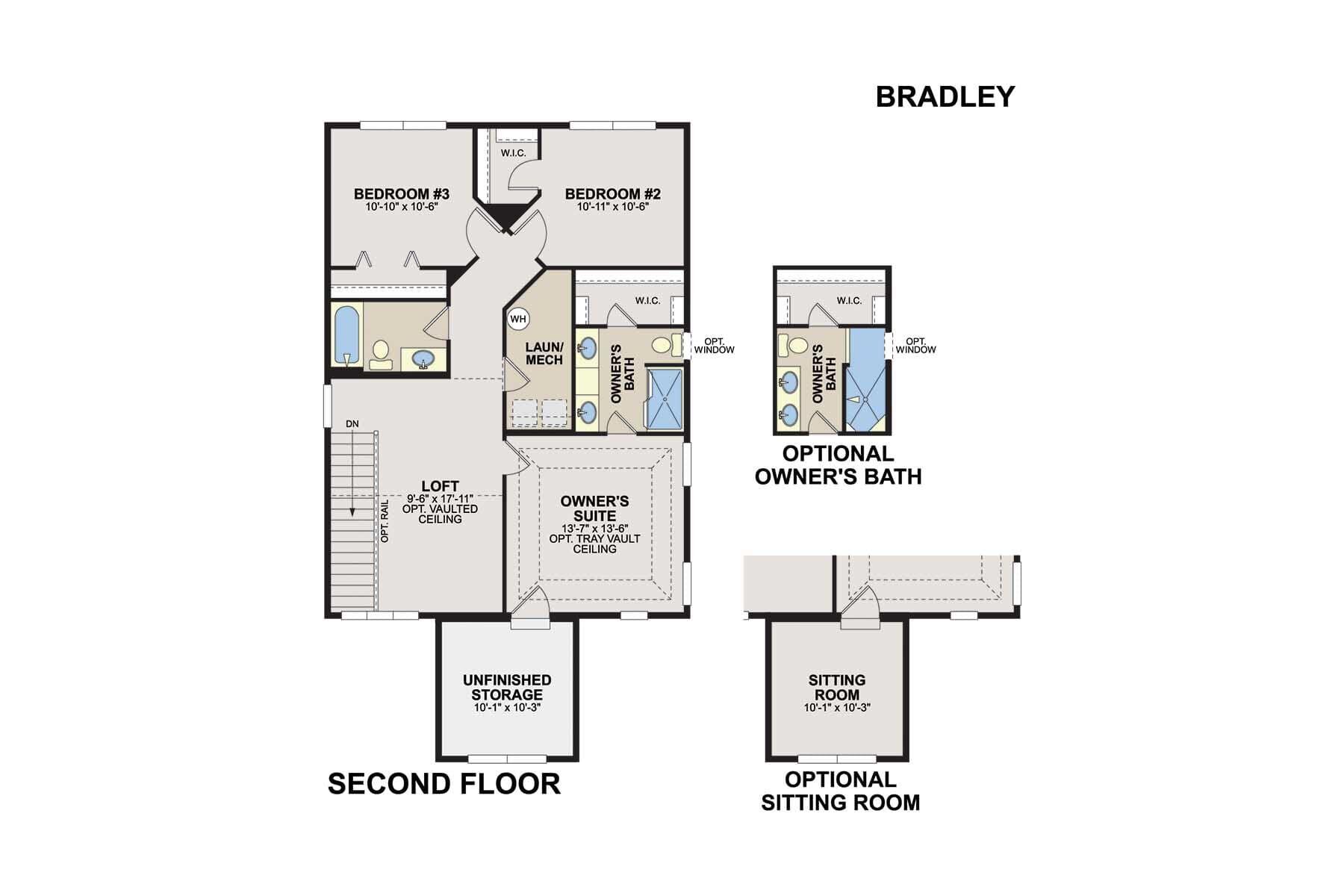 Bradley Second Floor