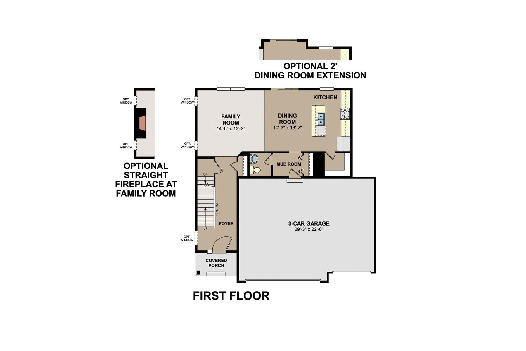 Carter First Floor