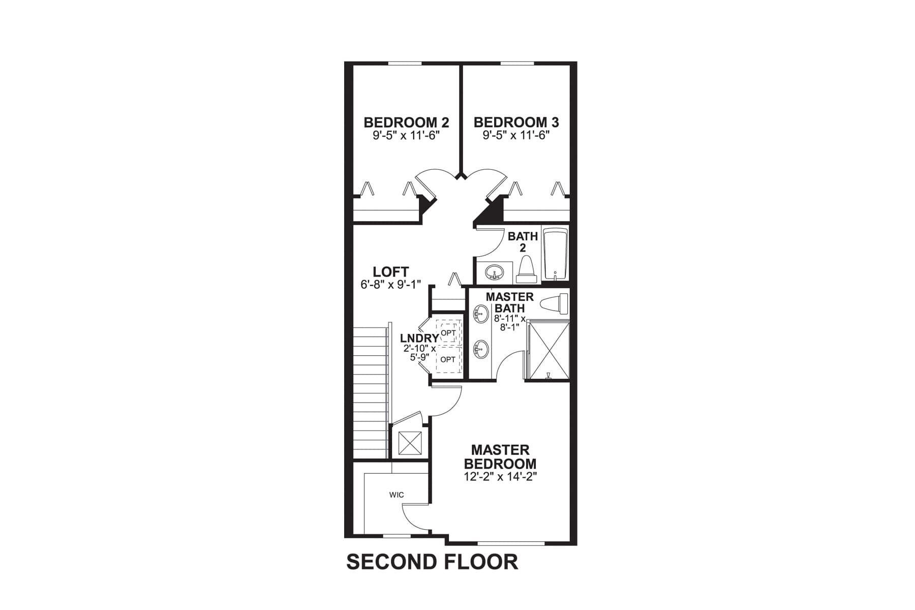 Santa Rosa Second Floor