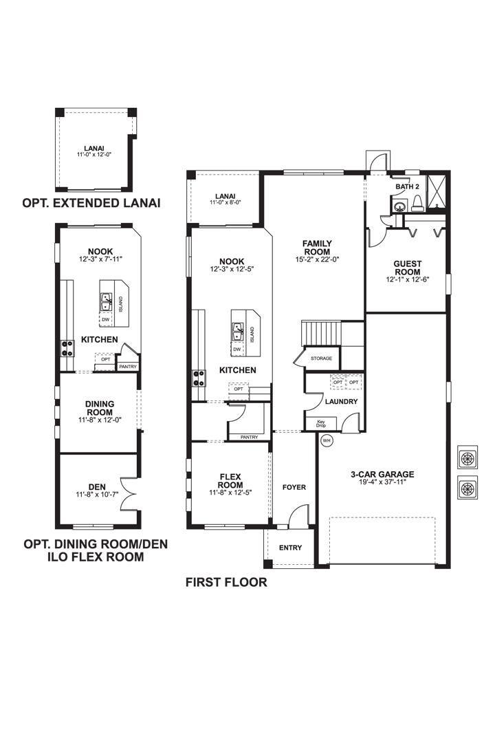 Sonoma First Floor