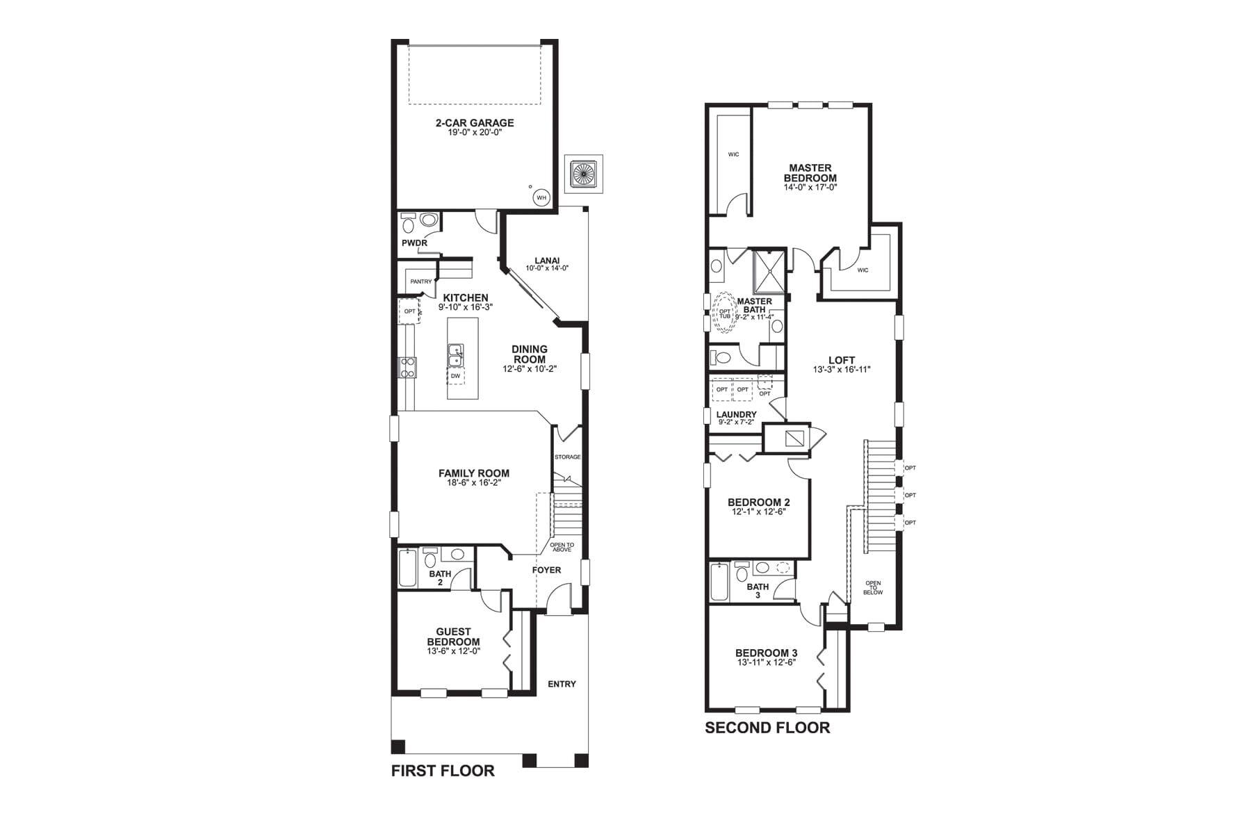Wekiva Floorplan