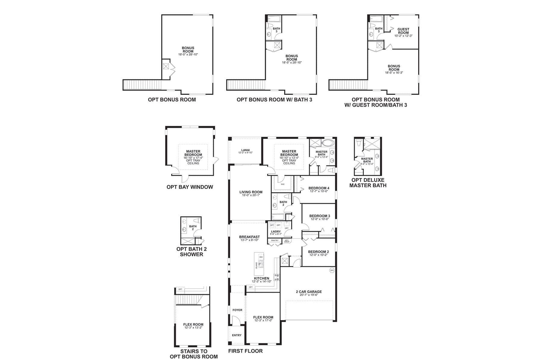 Brighton II Floorplan