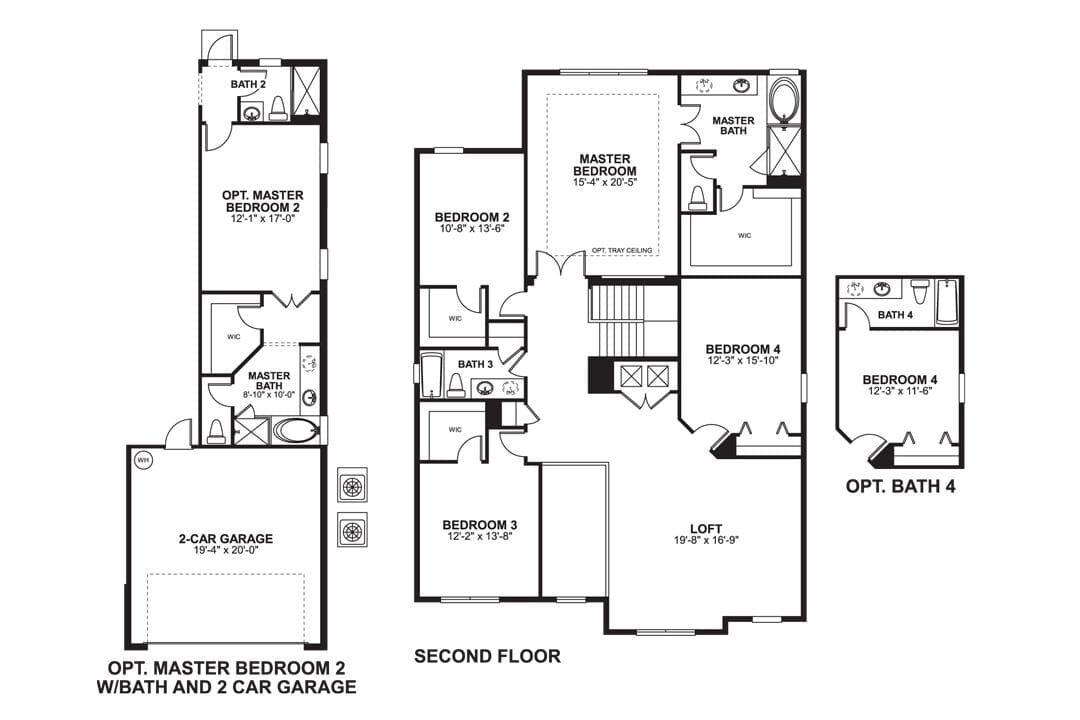 Sonoma Second Floor