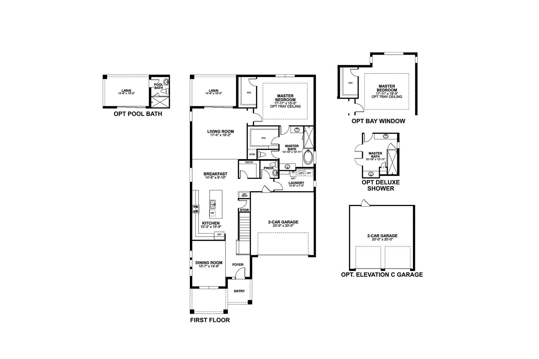 Dorchester First Floor