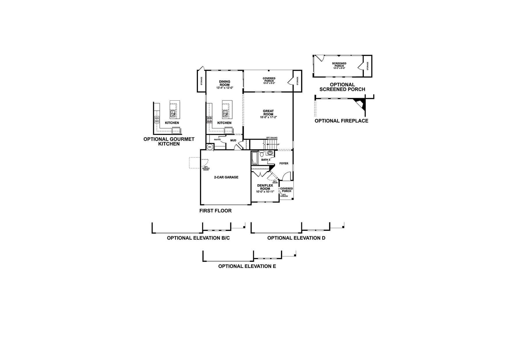 Linden II First Floor