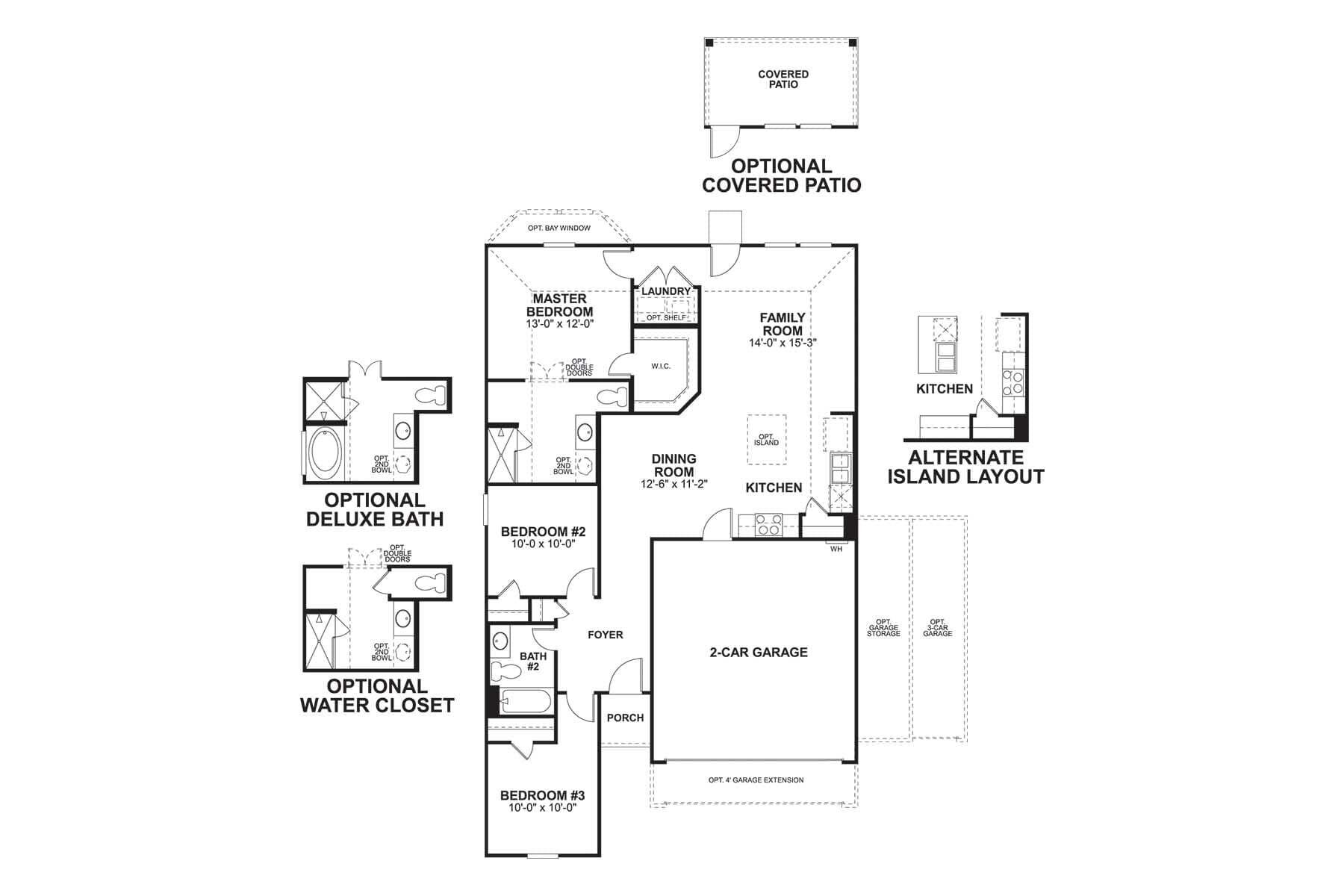 Kendall Floorplan