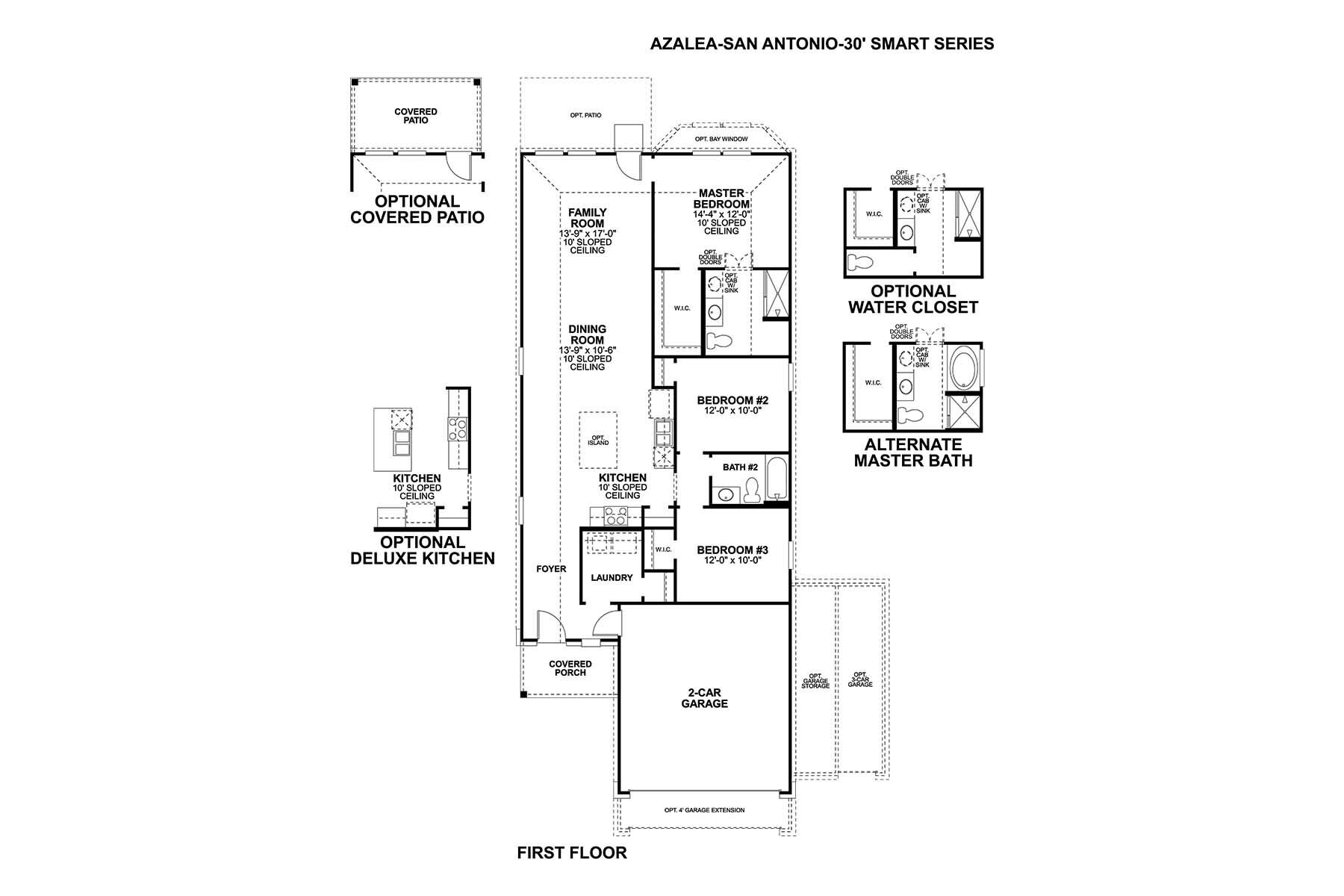 Azalea Floorplan