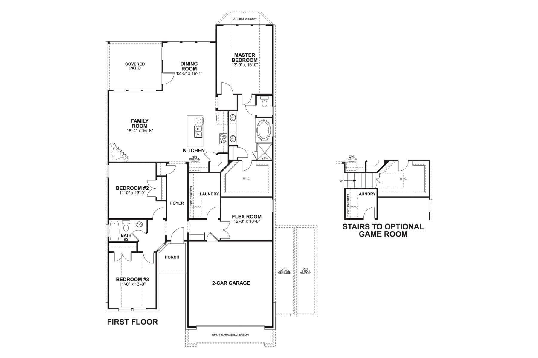 2447 Cottonwood II First Floor