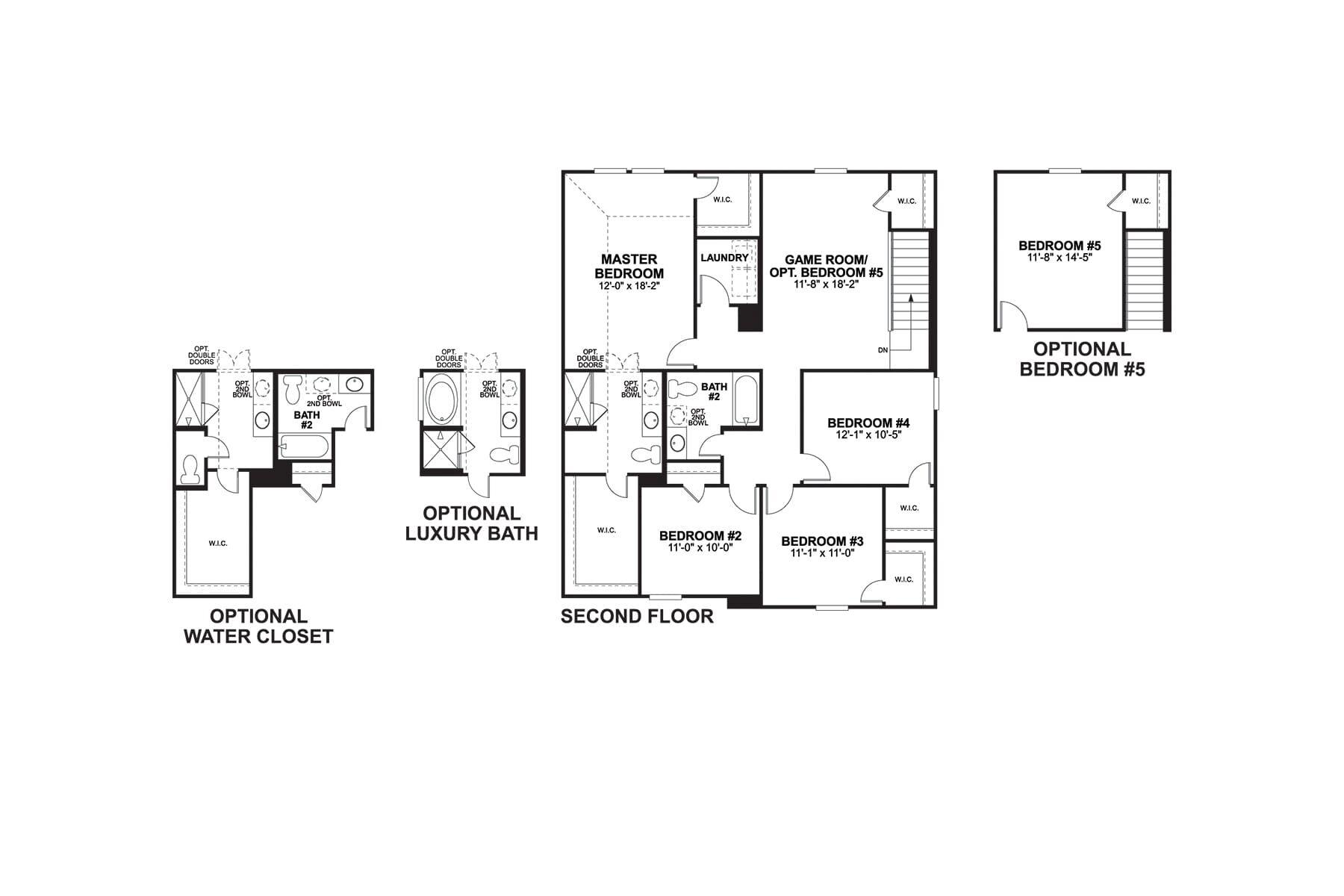 Donley Second Floor