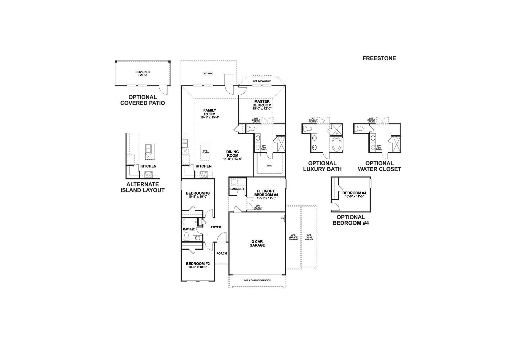 Freestone First Floor