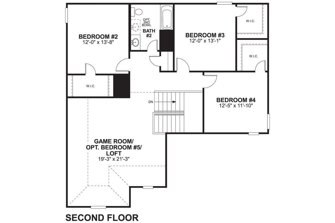 The Magellan Second Floor