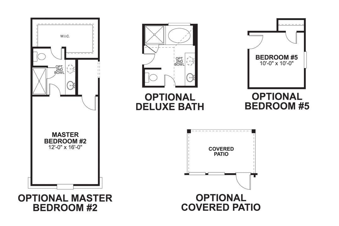 The Balboa First Floor Options