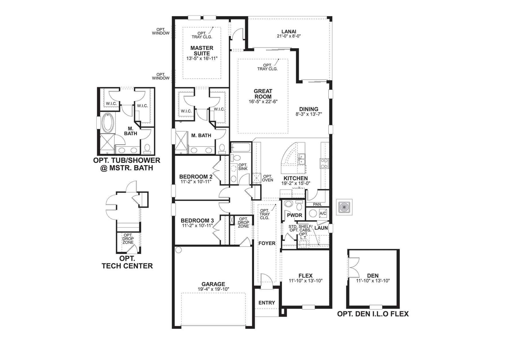 Amelia Floorplan
