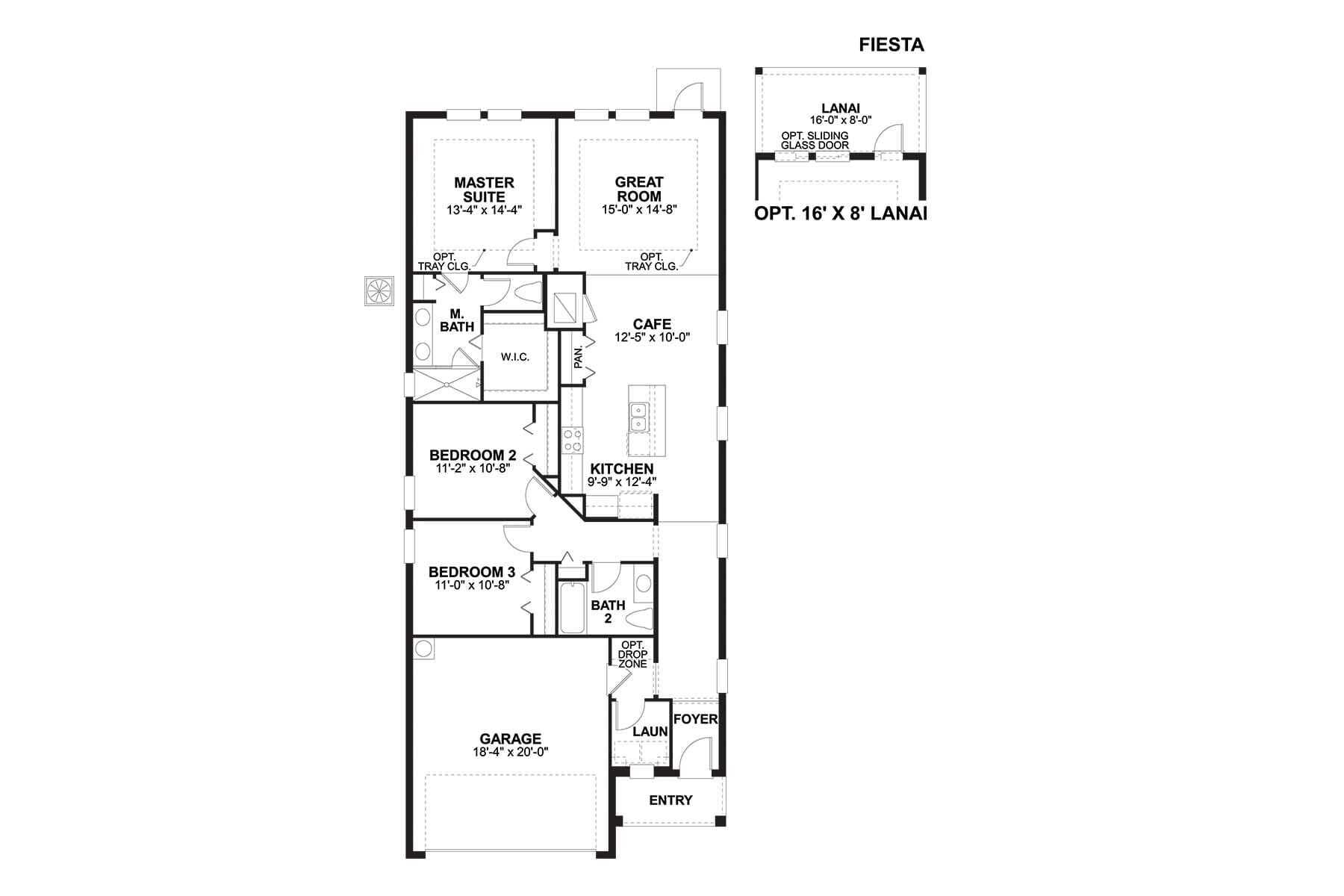 Fiesta Floorplan