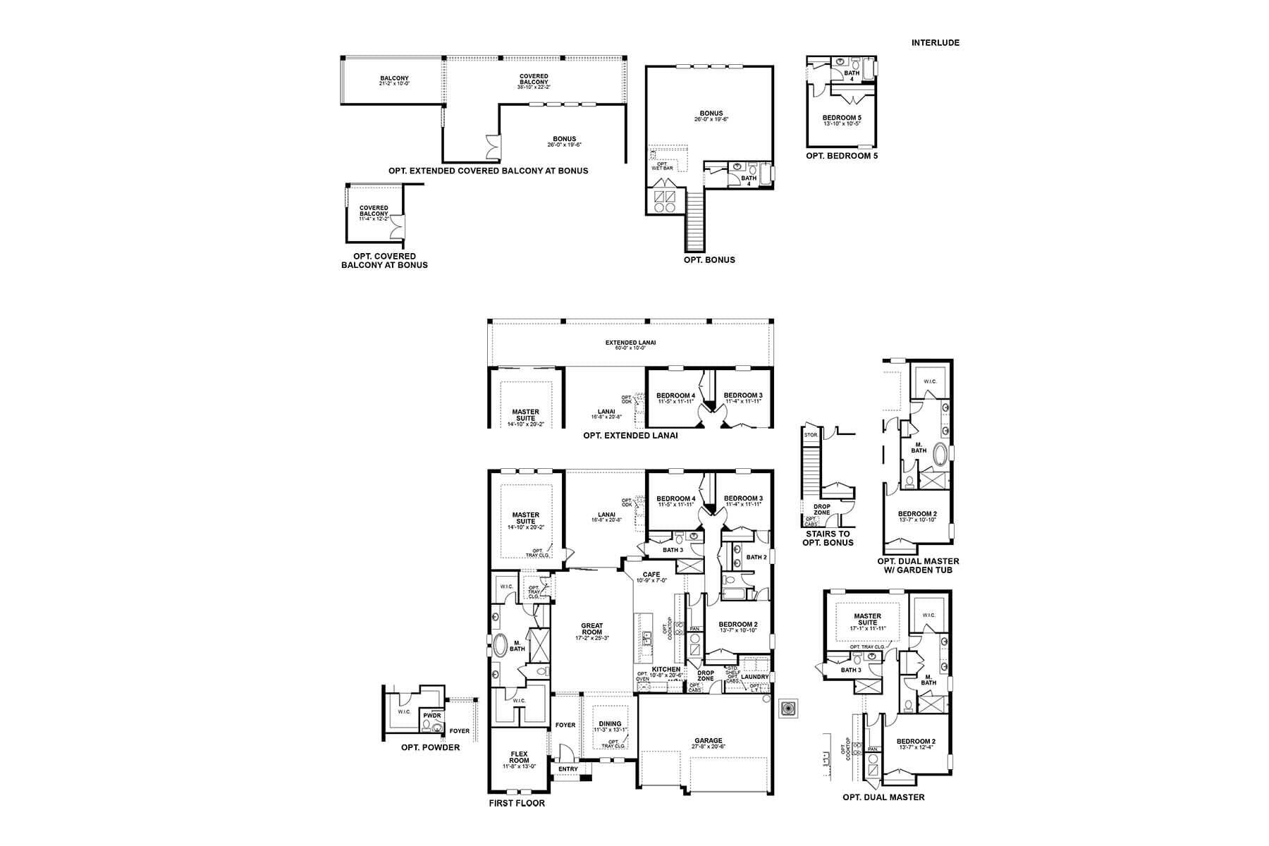 Interlude Floorplan