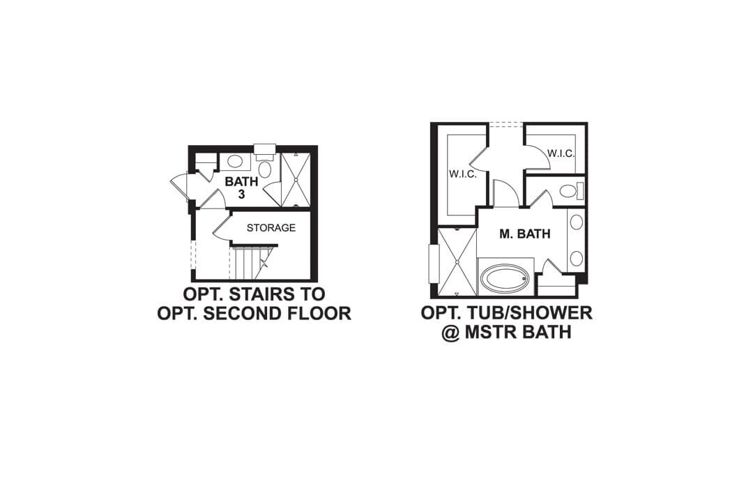 Holiday First Floor Options