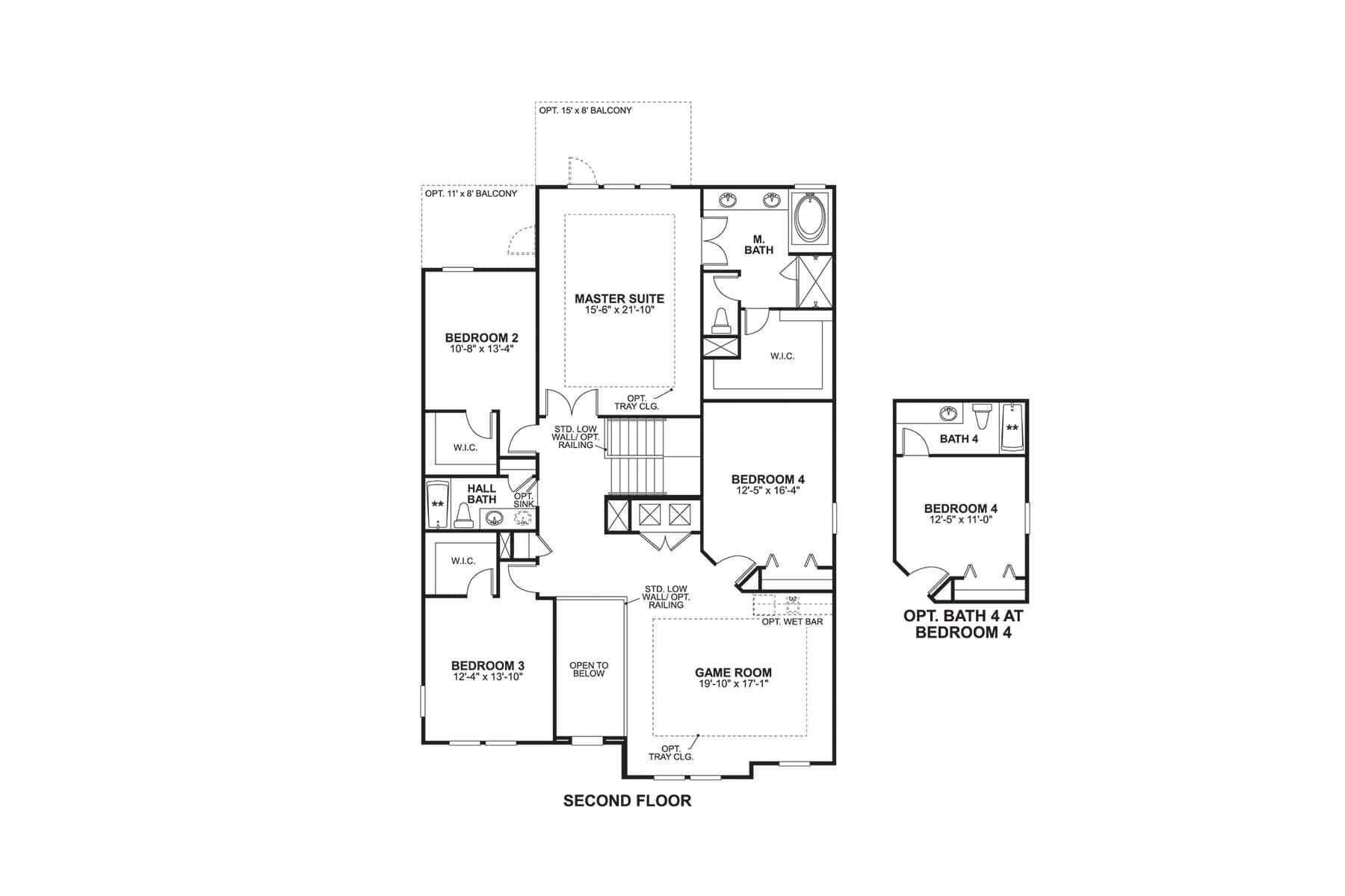 Sonoma II Second Floor