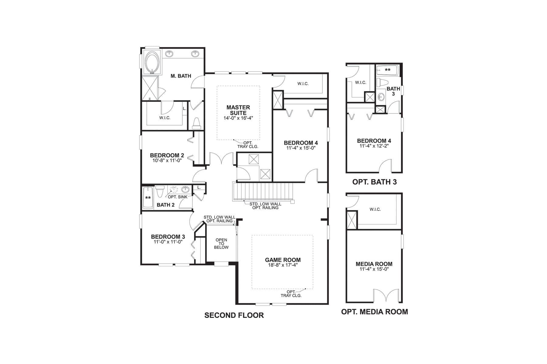 Coronado II Second Floor