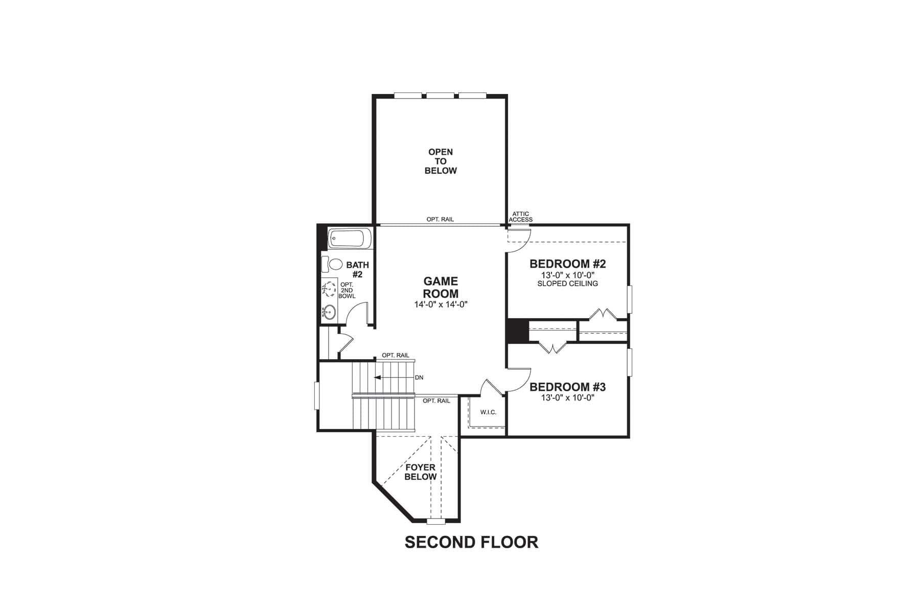 Bradford Second Floor