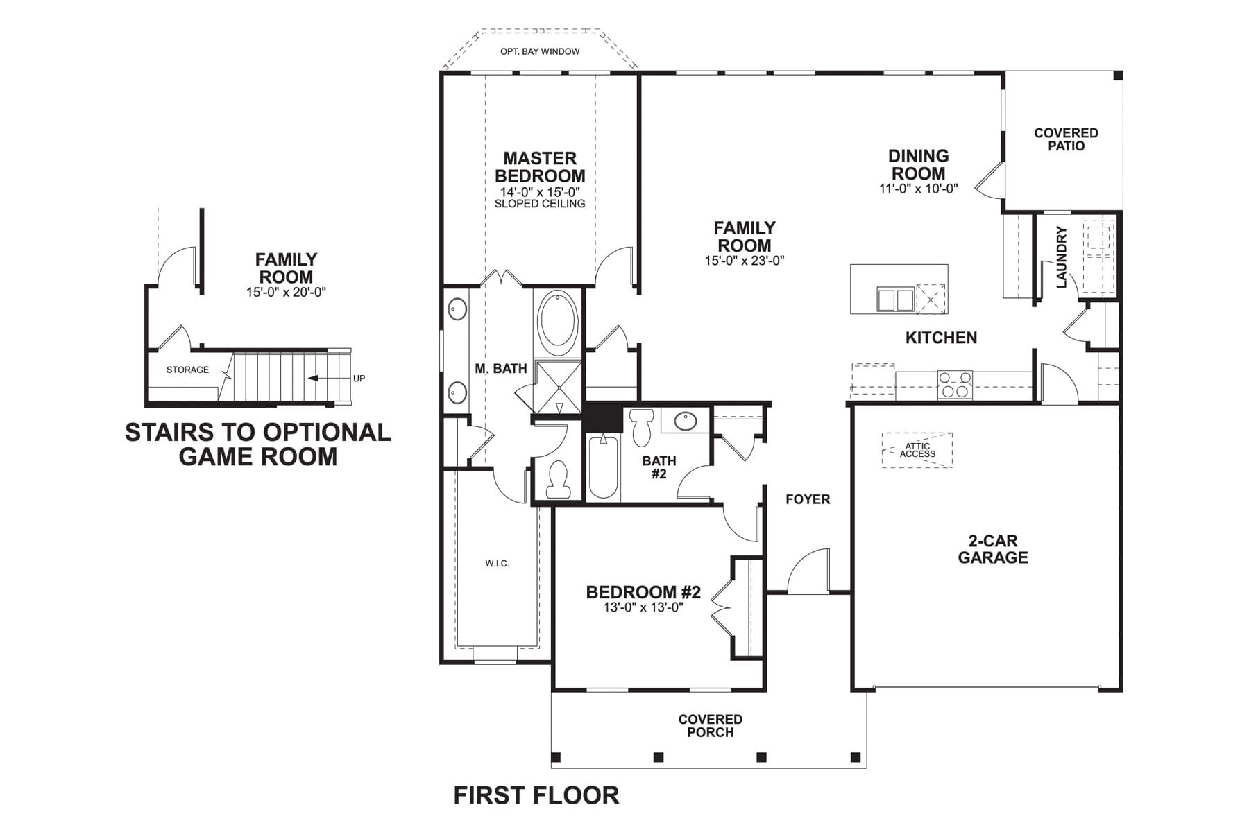 5401 Evans First Floor