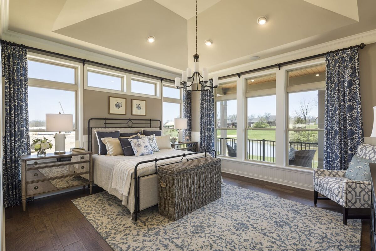 Carriage Hill Master Bedroom