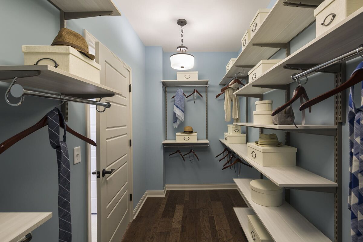 Carriage Hill Master Closet