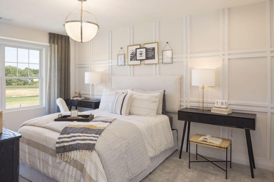 Monochrome White Bedroom